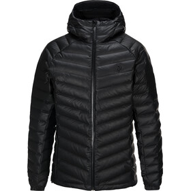 Peak Performance Frost Dry Down Hooded Jacket Herre black
